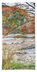 Fall In Texas Hills Beach Sheet