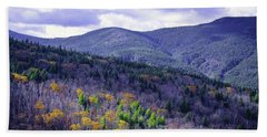 Fall In The White Mountains Beach Towel