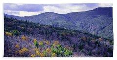 Fall In The White Mountains Beach Sheet