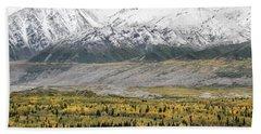 Fall In Wrangell - St. Elias Beach Sheet