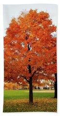 Fall Is Coming Beach Sheet