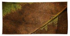 Fall Leaf Beach Towel