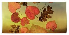 Fall Leaves #1 Beach Towel