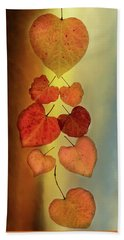 Fall Leaves #2 Beach Towel
