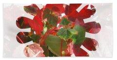 Fall Leaves #9 Beach Sheet