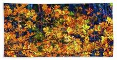 Fall Light #e2 Beach Towel by Leif Sohlman