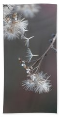 Beach Towel featuring the photograph Fall - Macro by Jeff Burgess