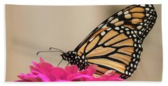Fall Monarch 2016-4 Beach Towel