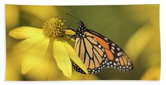 Fall Monarch 2016-5 Beach Towel