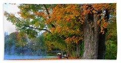 Fall Morning In Jackson Beach Sheet