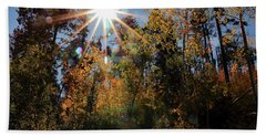 Fall Mt. Lemmon 2017 Beach Towel