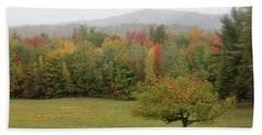 Fall Nh Beach Towel