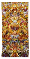 Fall Of The Leaf Gods  Beach Towel