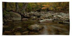 Fall On The Gale River Beach Towel