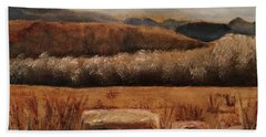 Fall Plains Beach Towel