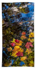 Fall Reflection - Pisgah National Forest Beach Towel