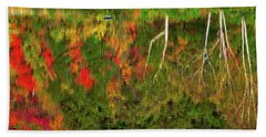 Fall Reflections 2017 Beach Towel