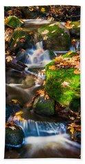 Fall Seasonal Water Cascade Beach Sheet