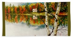 Fall Splendour Beach Towel