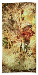 Fall Treasures Beach Towel
