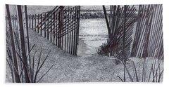 Falling Fence Beach Sheet