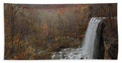Falling Spring Falls, Va Beach Towel