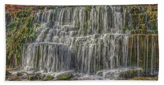 Falling Water Beach Towel