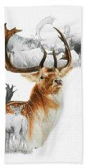 Fallow Deer Beach Sheet