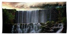 Falls At Mirror Lake Beach Towel