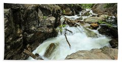 Falls River Falls Beach Towel