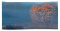 Falltime In The Meadow Beach Towel