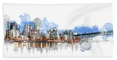 False Creek Beach Towel