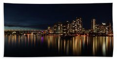 False Creek Reflections Beach Towel