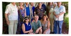 Family And Friends Reunion Beach Sheet
