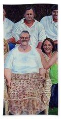 Family Portrait Beach Sheet