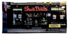 Famous Chicago Donut Shop Beach Sheet