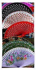 Beach Towel featuring the photograph Fan-tastic by Sue Melvin