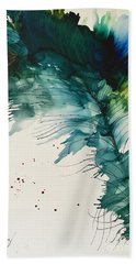 Fancy Feather Beach Towel