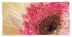 Fancy Pants Gerbera Daisy Beach Towel