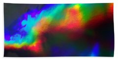 Heavenly Lights Beach Towel