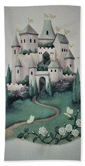 Fantasy Castle Beach Towel