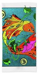 Fantasy Fish Beach Sheet
