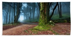 Beach Towel featuring the photograph Fantasy by Jorge Maia