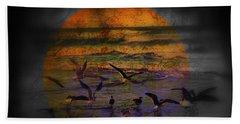 Fantasy Wings Beach Towel