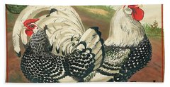 Farm Fresh Poultry-a Beach Towel