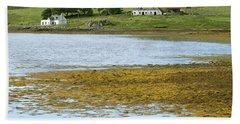 Farm In Isle Of Skye, Uk Beach Towel