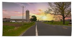 Farm Life Beach Towel