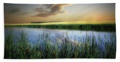 Farm Pond Beach Towel