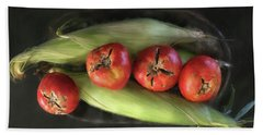 Farm Produce Beach Towel