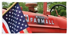 Farmall 2 Beach Towel